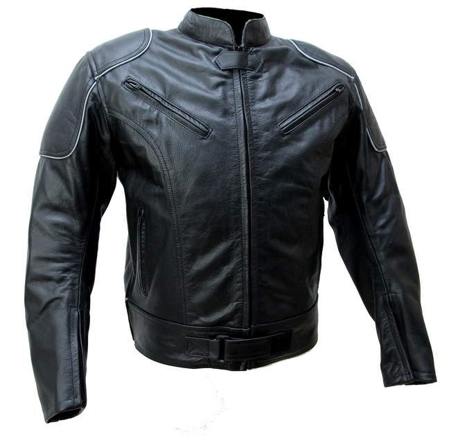 kc023 blouson cuir moto noir karno motorsport cafe racer vetement moto homme blouson moto. Black Bedroom Furniture Sets. Home Design Ideas