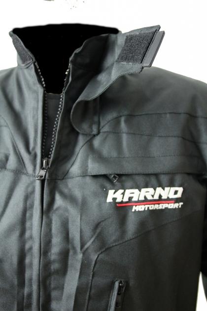 Quad Textile Noir Veste Karno Hiver Moto Kt004 Parka Doubl qIEPU