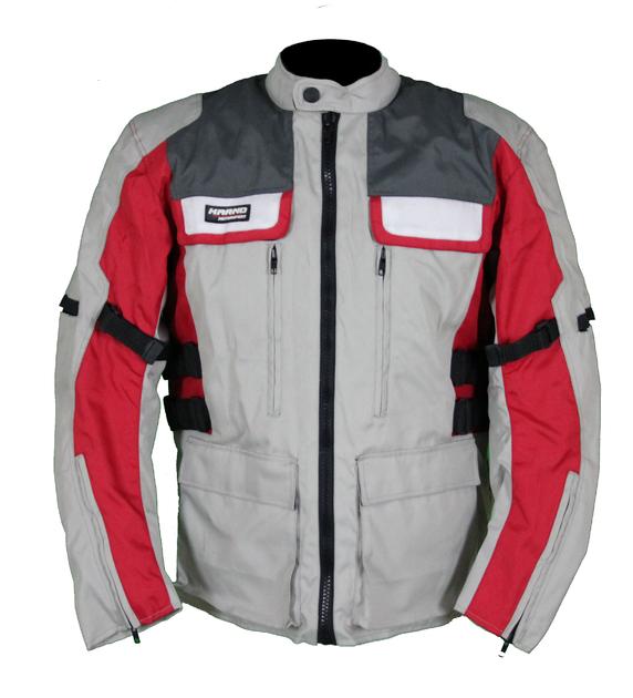 Kd002 Gris Veste Et Rouge Moto Textile 34 Type Karno Parka xRY4xgnd