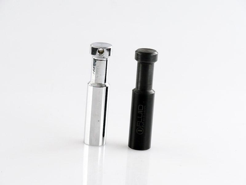 spigots chrome et noir