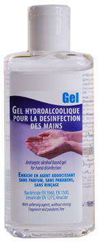 gel desinfectant