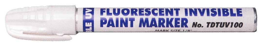 Marqueur fluorescent invisible