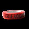 """Ruban adhésif rouge """"SCELLE JUDICIAIRE - NE PAS OUVRIR"""" 100m X 2.5cm"""