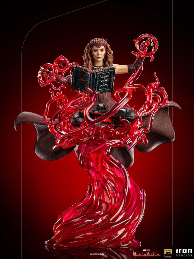 Statuette WandaVision Deluxe Art Scale Scarlet Witch 24cm 1001 Figurines (12)