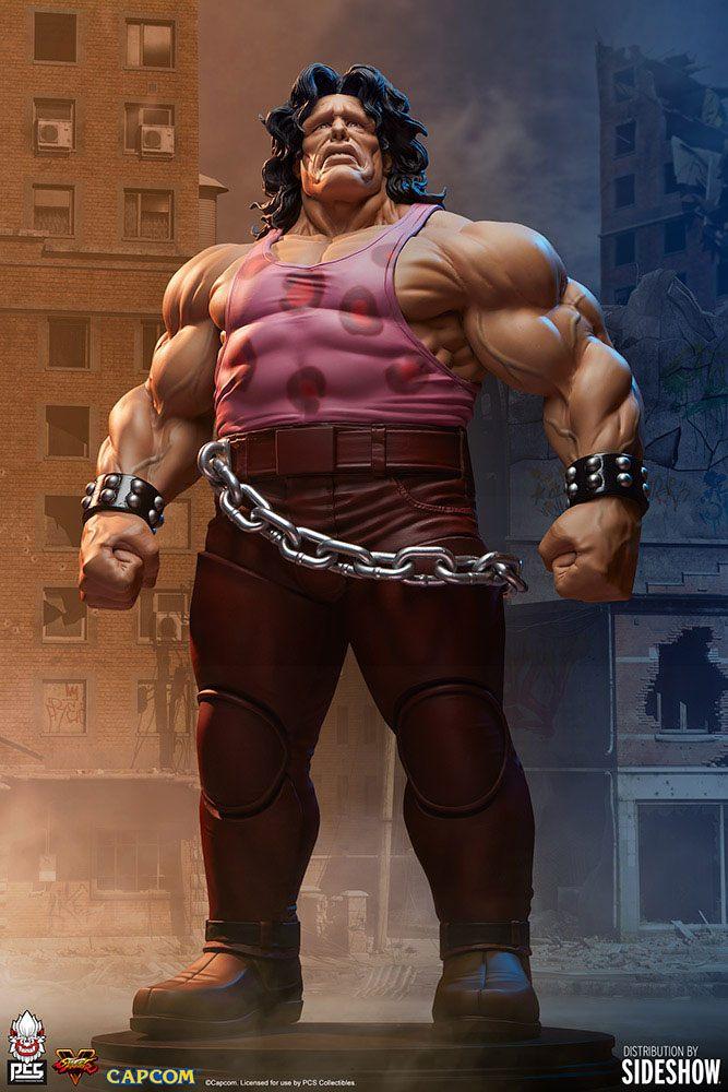 Statuette Street Fighter Hugo 67cm