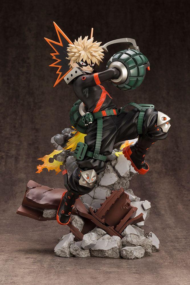 Statuette My Hero Academia ARTFXJ Katsuki Bakugo Ver. 2 Bonus Edition 26cm