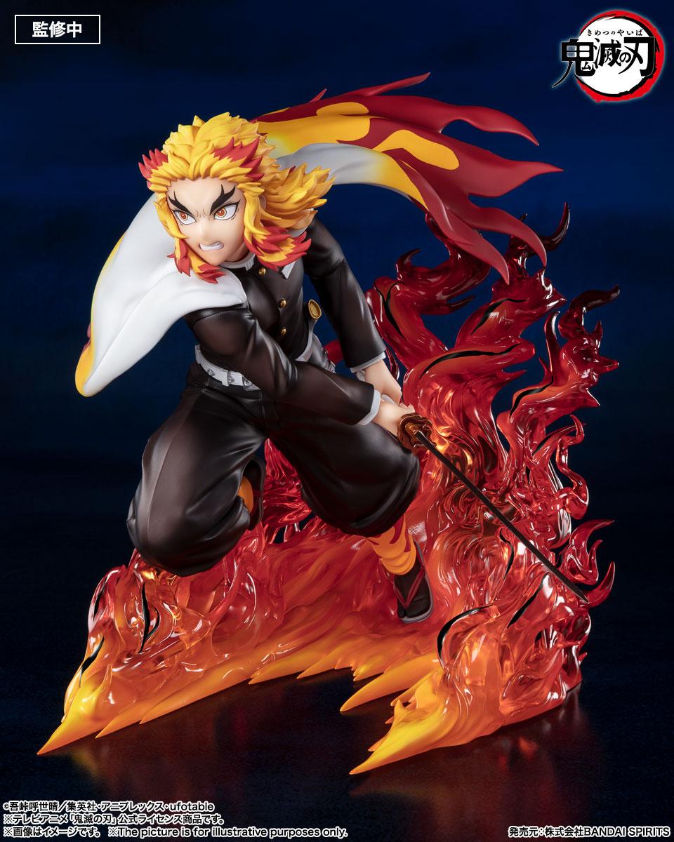 Statuette Demon Slayer Kimetsu no Yaiba Figuarts ZERO Kyojuro Rengoku Flame Hashira 15cm 1001 Figurines 1