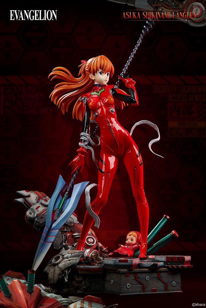 Statuette Evangelion 2.0 You Can Not Advance Wonder Asuka Shikinami Langley 62cm 1001 Figurines (3)