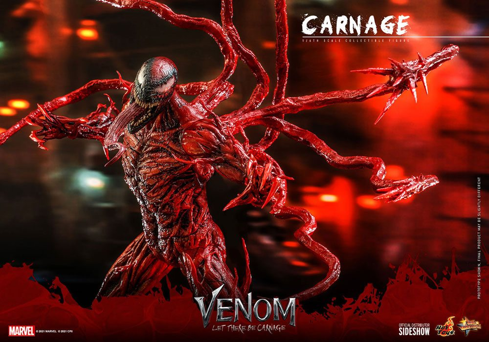 Figurine Venom Let There Be Carnage Movie Masterpiece Series Carnage 43cm