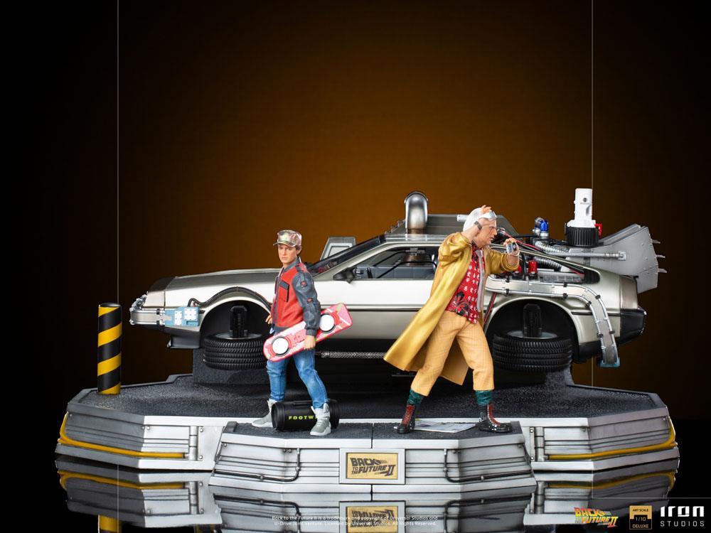 Statuette Retour vers le Futur II Art Scale Full Set Deluxe 58cm