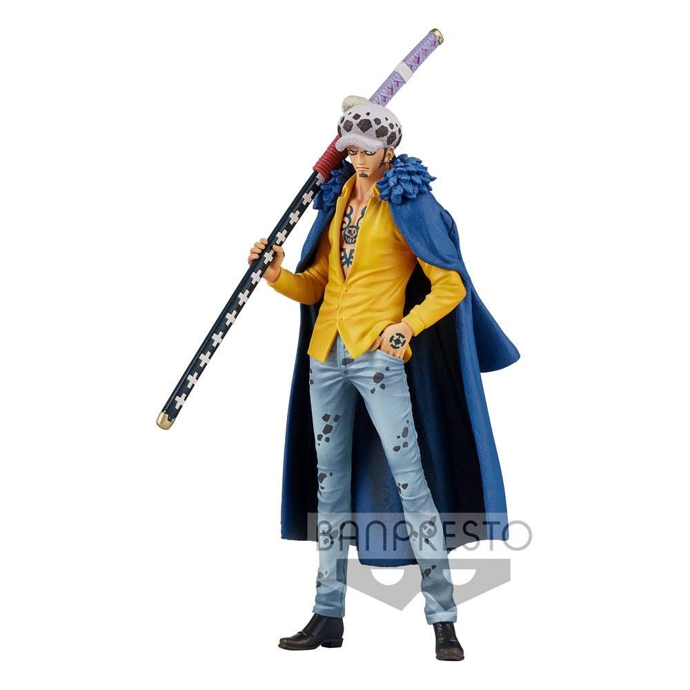Statuette One Piece DXF Grandline Men Wanokuni Trafalgar Law 17cm
