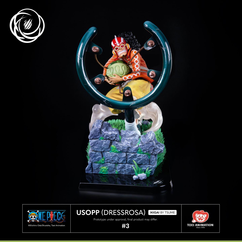 Statuette One Piece Usopp Dressrosa Tsume Ikigai 36cm