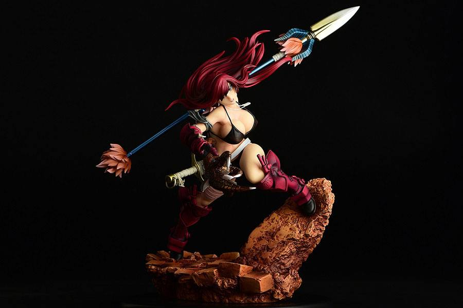 Statuette Fairy Tail Erza Scarlet the Knight Ver. Another Color Crimson Armor 31cm