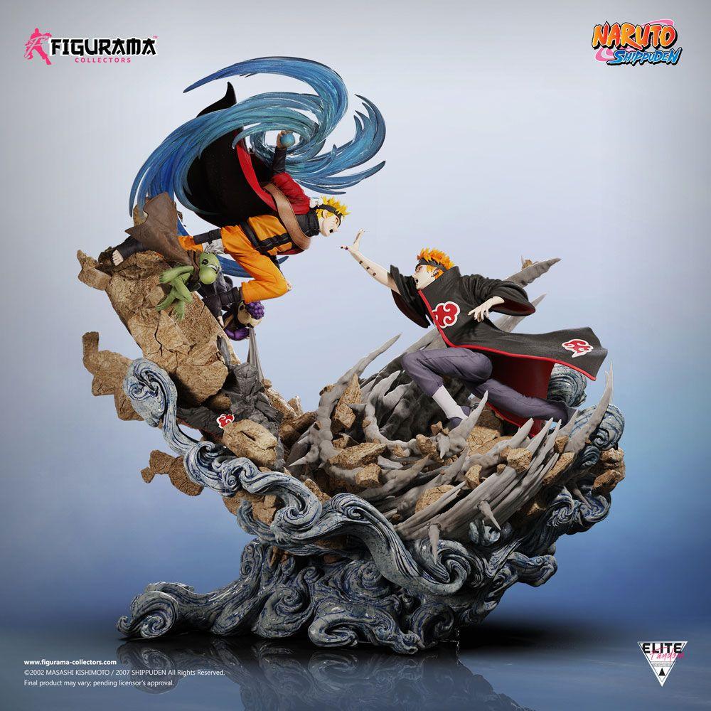 Diorama Naruto Elite Fandom Naruto vs. Pain 69cm