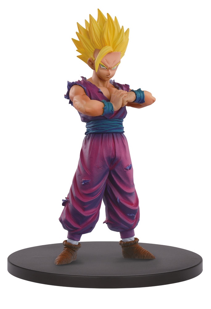 figurine dragon ball z resolution of soldiers vol 4 gohan super saiyan 2 12cm figurines. Black Bedroom Furniture Sets. Home Design Ideas