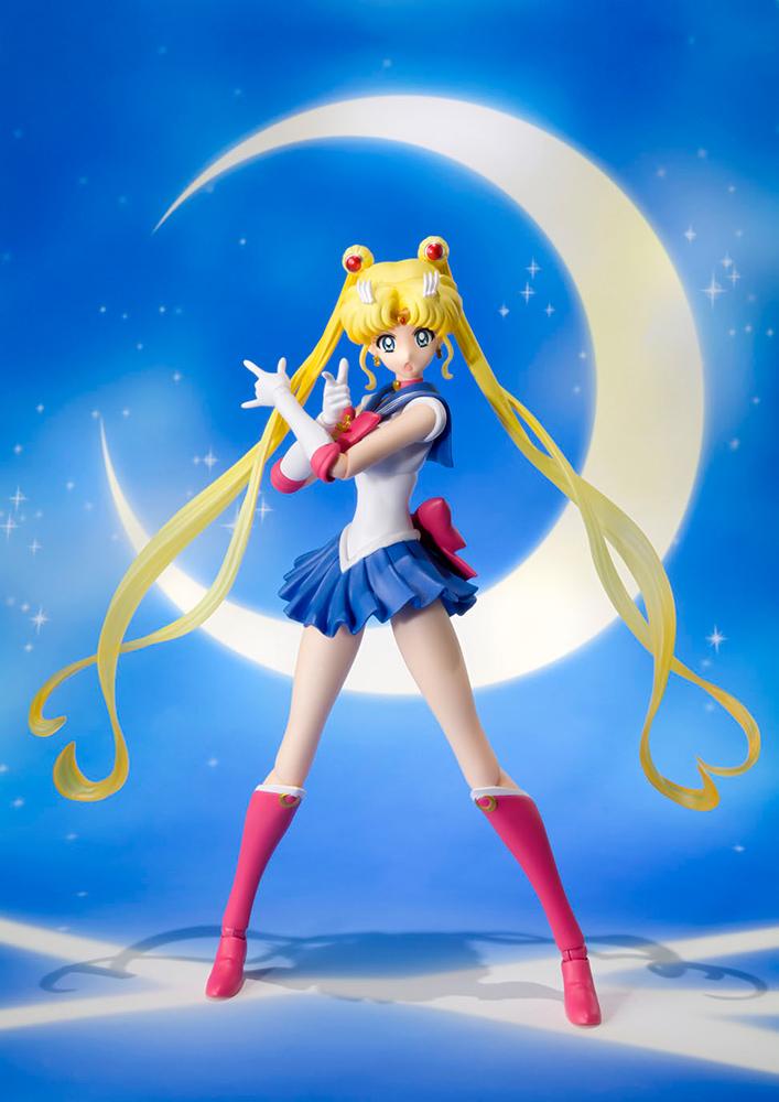 Figurine Sailor Moon Crystal S.H. Figuarts Sailor Moon Pretty Guardian 14cm 1001 Figurines 1