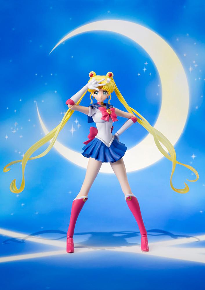 Figurine Sailor Moon Crystal S.H. Figuarts Sailor Moon Pretty Guardian 14cm 1001 Figurines 3