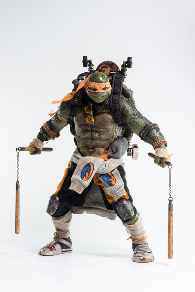 Figurine tortues ninja 2 michelangelo 30cm figurines - Michaelangelo tortue ninja ...