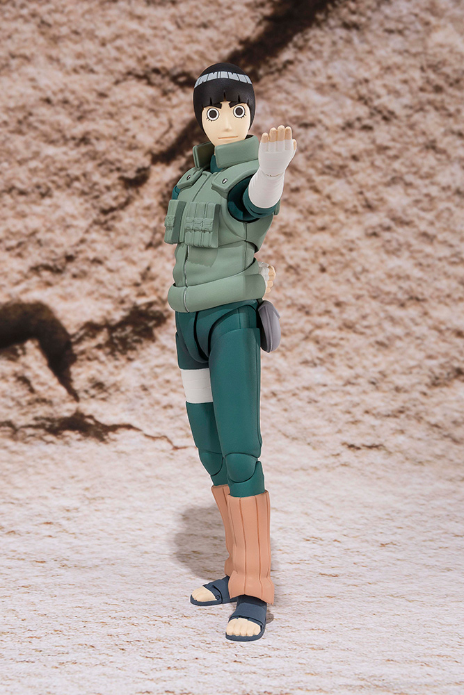Figurine Naruto S.H. Figuarts Rock Lee 14cm 1001 Figurines 1