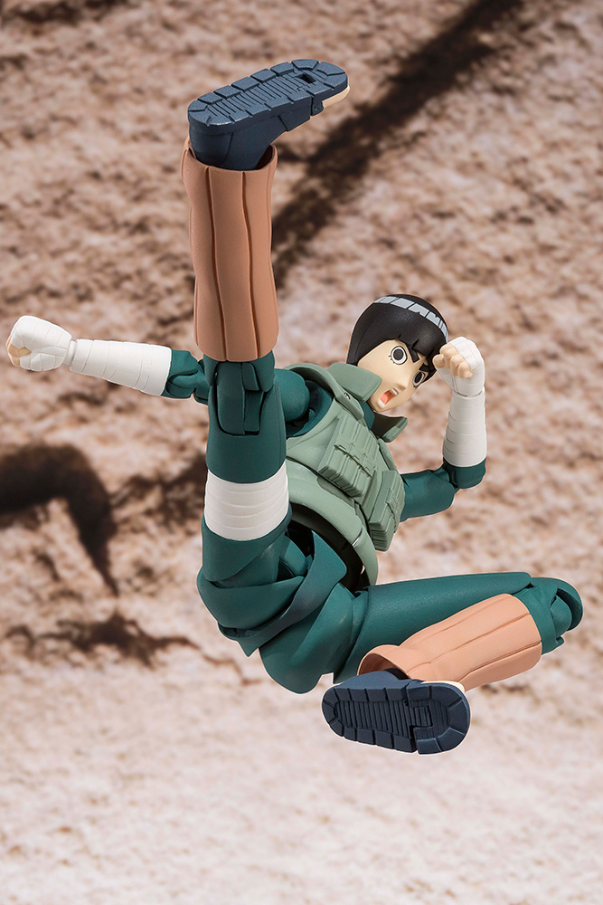 Figurine Naruto S.H. Figuarts Rock Lee 14cm 1001 Figurines 2