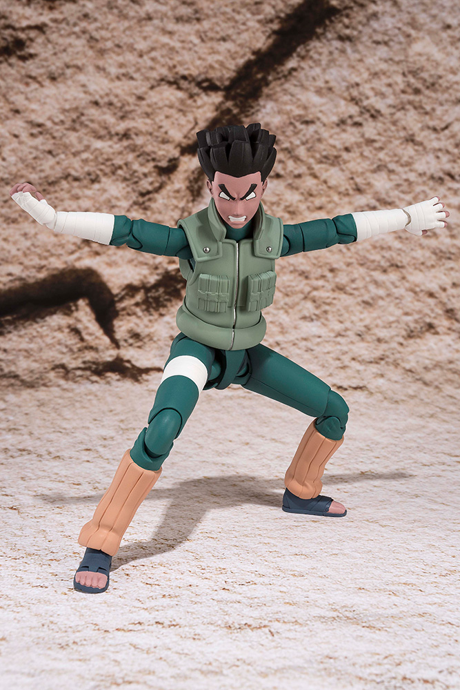 Figurine Naruto S.H. Figuarts Rock Lee 14cm 1001 Figurines 3
