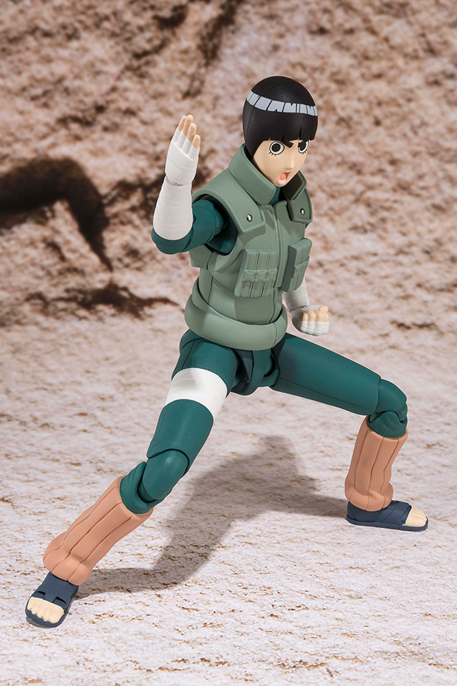 Figurine Naruto S.H. Figuarts Rock Lee 14cm 1001 Figurines 5