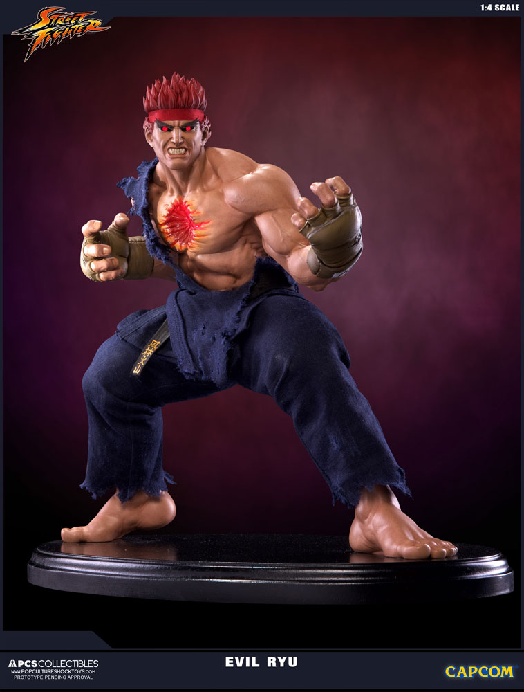 Statuette Street Fighter IV Evil Ryu 42cm 1001 Figurines