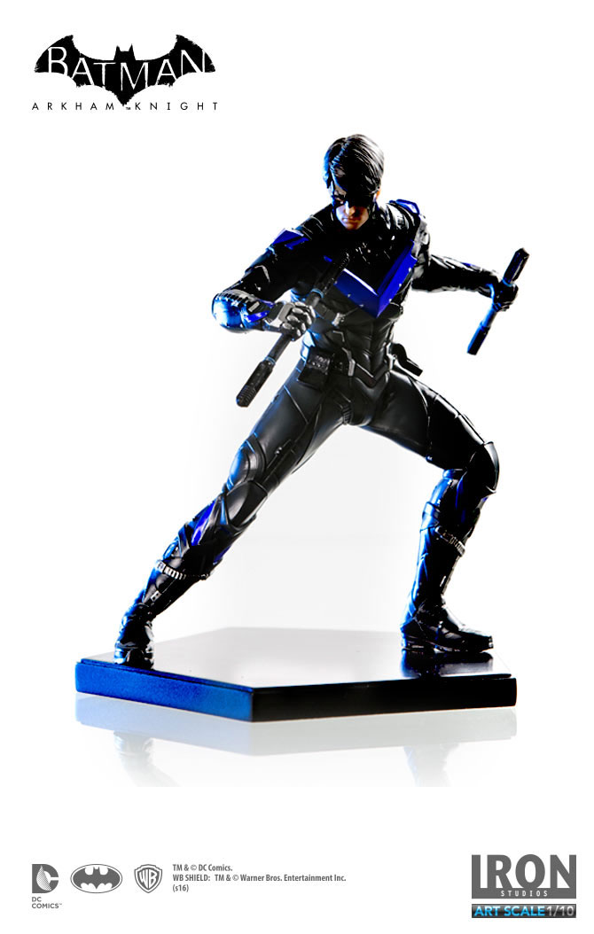 Statuette Batman Arkham Knight Nightwing 16cm 1001 Figurines