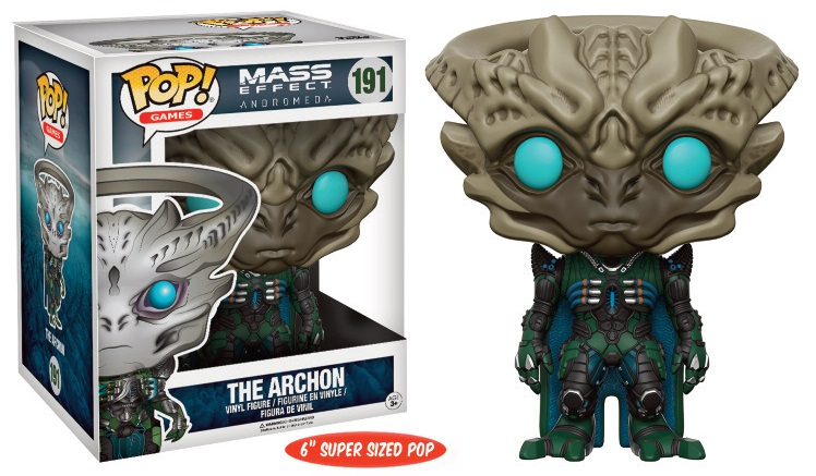 Figurine Mass Effect Andromeda Super Sized POP! The Archon 15cm 1001 Figurines
