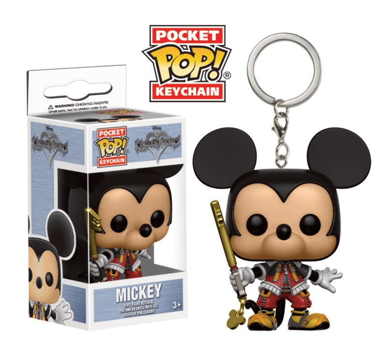 Porte-clés Kingdom Hearts Pocket POP! Mickey 4cm 1001 Figurines