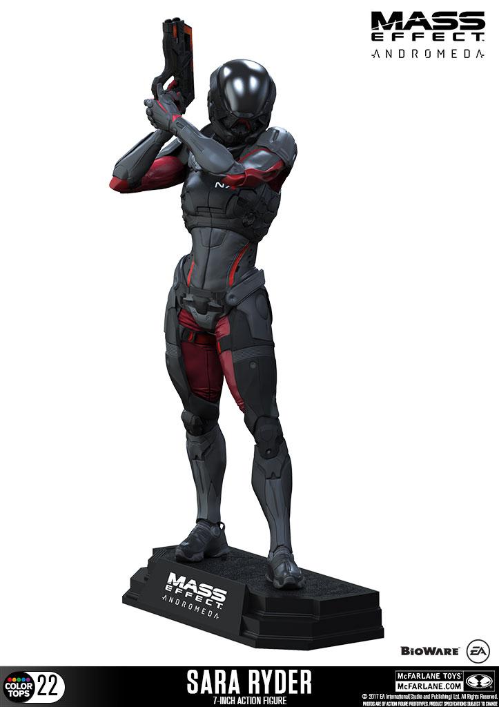 Figurine Mass Effect Andromeda Color Tops Sara Ryder 18cm 1001 Figurines
