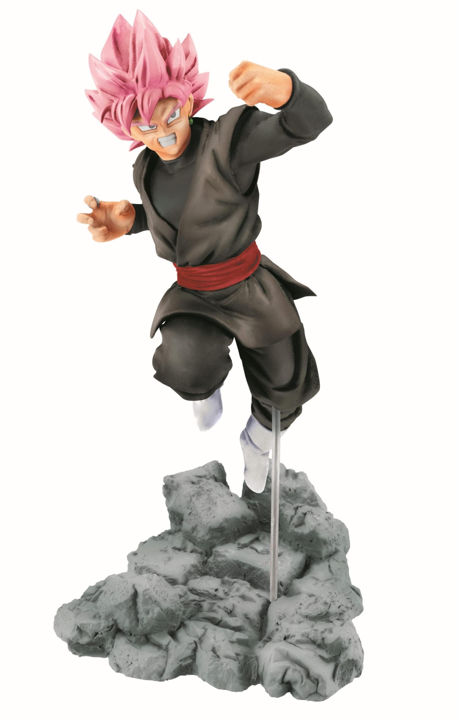 figurine dragon ball super black goku