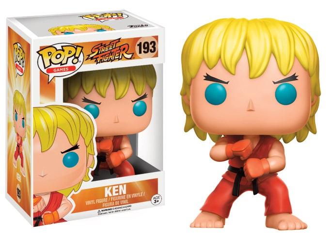 Figurine Street Fighter Funko POP! Ken (Special Attack) 9cm 1001 Figurines