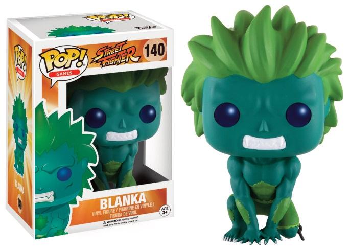 Figurine Street Fighter Funko POP! Blanka Green 9cm 1001 Figurines