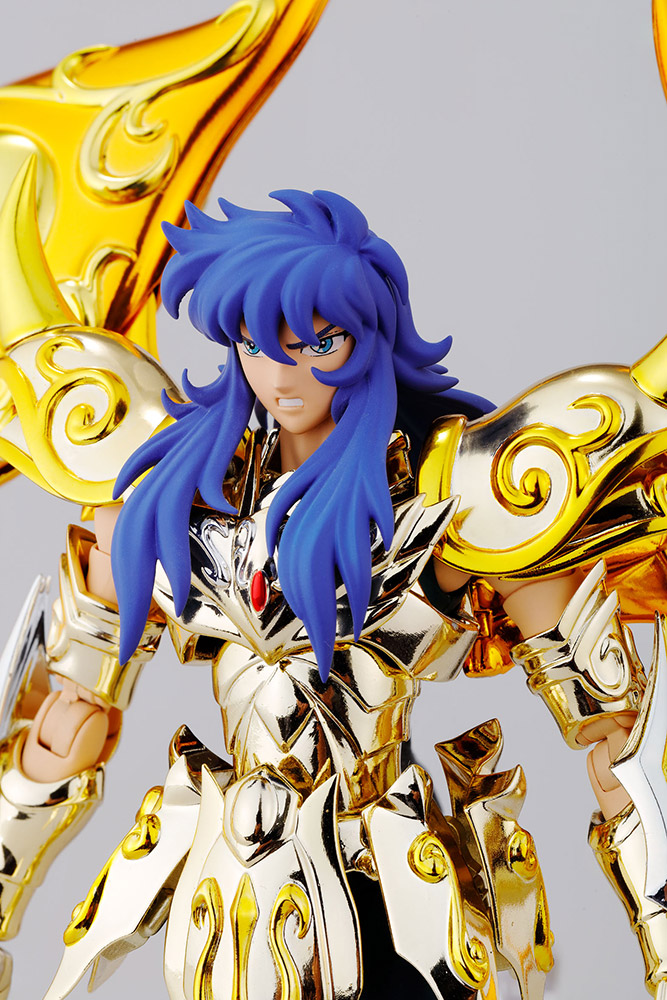 Figurine Saint Seiya Soul of Gold Milo du Scorpion Myth Cloth EX 1001 Figurines 5