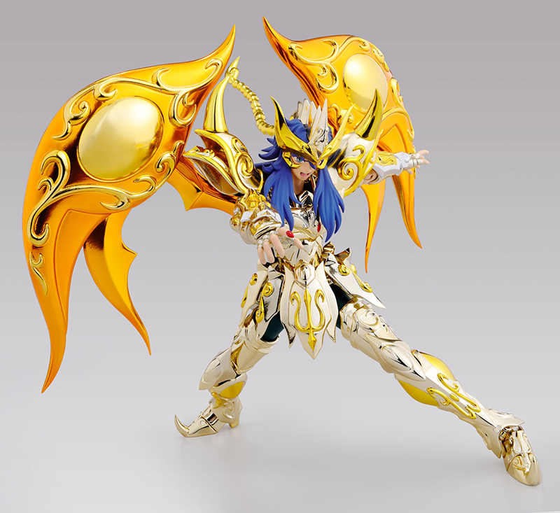 Figurine Saint Seiya Soul of Gold Milo du Scorpion Myth Cloth EX 1001 Figurines 7