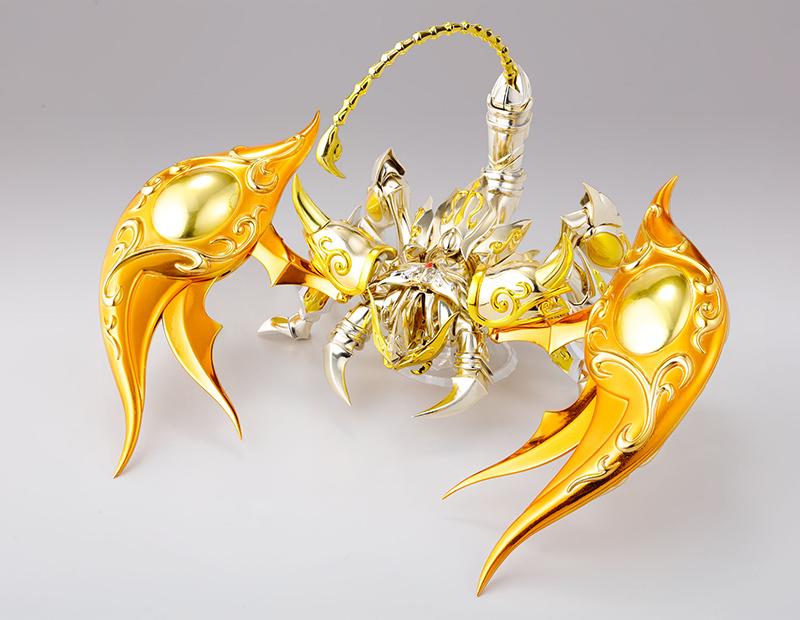 Figurine Saint Seiya Soul of Gold Milo du Scorpion Myth Cloth EX 1001 Figurines 8