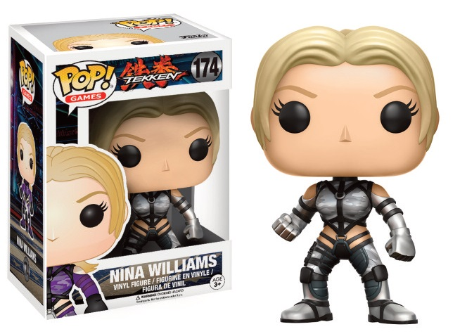Figurine Tekken Funko POP! Nina Williams (Silver Suit) 9cm 1001 Figurines