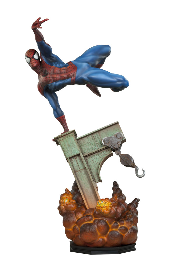 Statuette Marvel Premium Format The Amazing Spider-Man 64cm 1001 Figurines