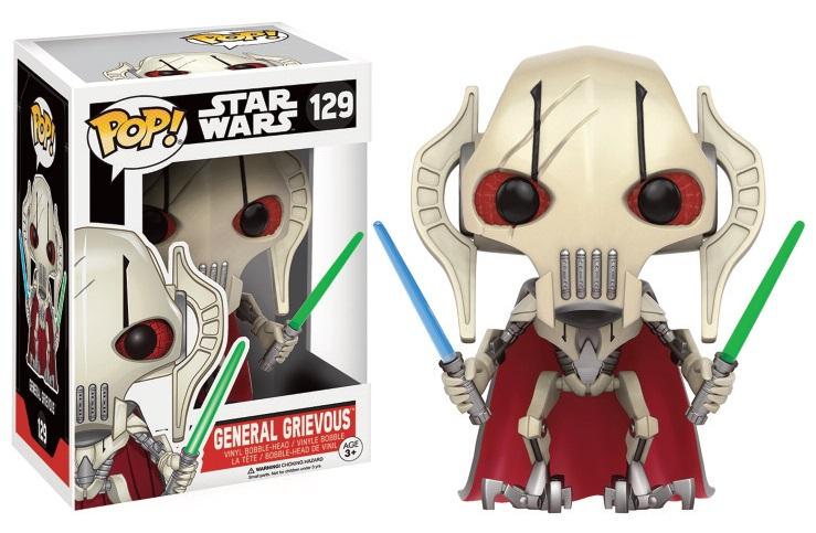 figurine star wars general grievous