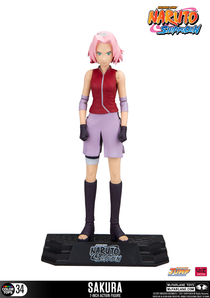 Figurine Naruto Shippuden Color Tops Sakura 18cm 1001 Figurines
