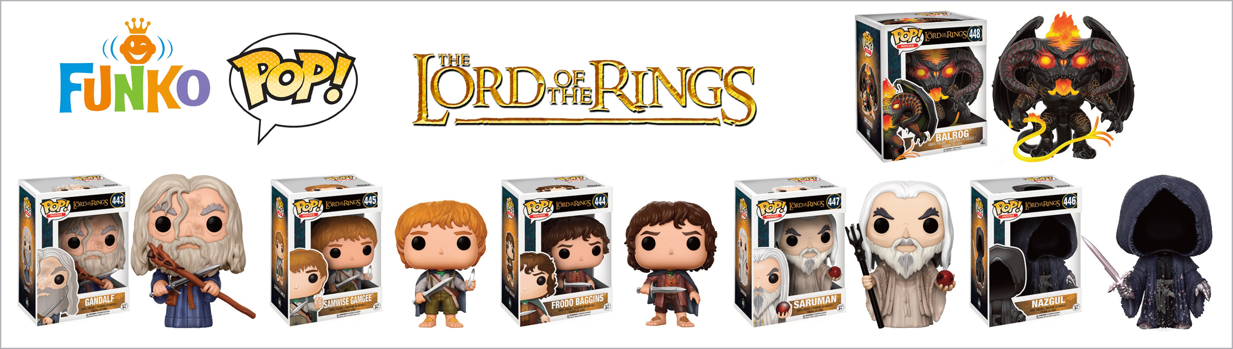 Figurine Lord of The Rings Funko POP!