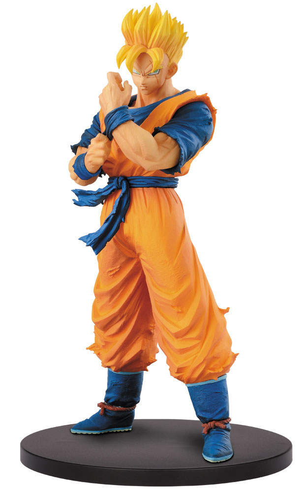 figurine dragon ball z resolution of soldier