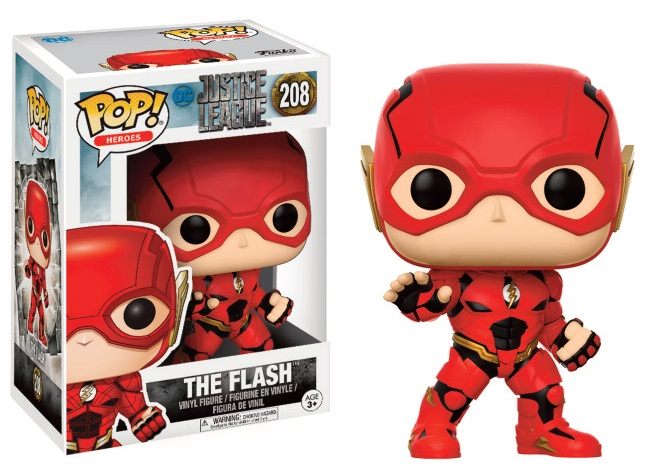Figurine Justice League Movie Funko POP! The Flash 9cm 1001 Figurines