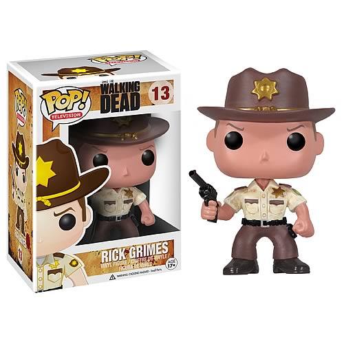 Figurine The Walking Dead Funko POP! Rick 10cm 1001 figurines