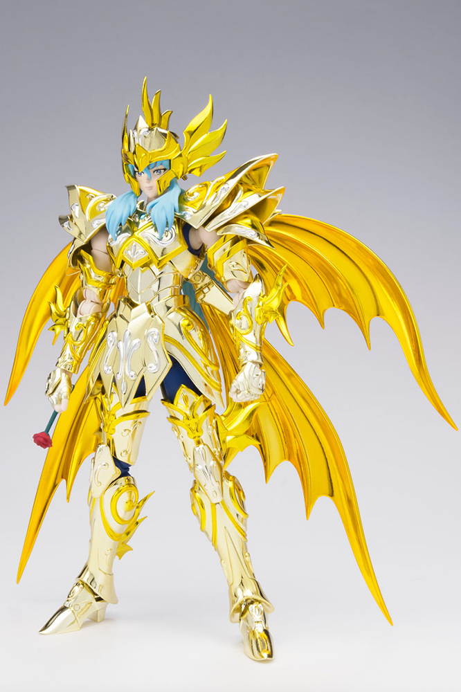 Figurine Saint Seiya Soul of Gold Aphrodite des Poissons Myth Cloth EX 1001 Figurines 1