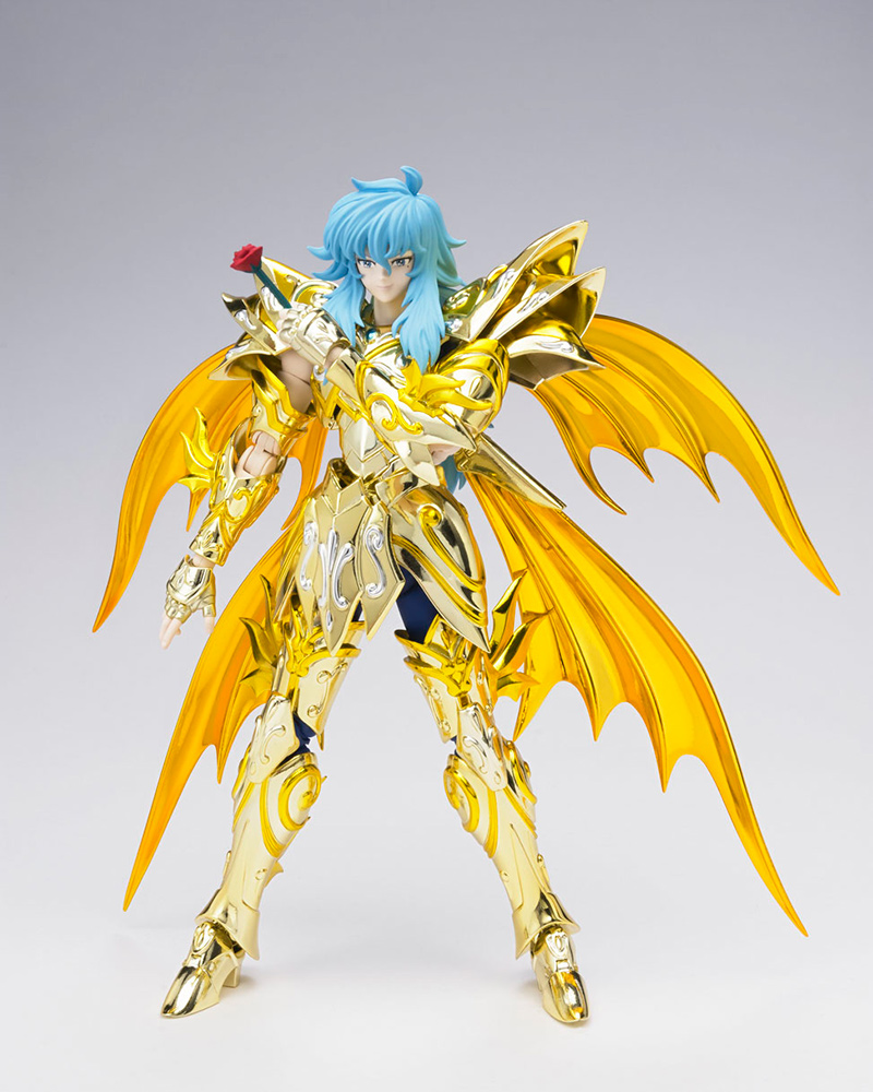 Figurine Saint Seiya Soul of Gold Aphrodite des Poissons Myth Cloth EX 1001 Figurines 2