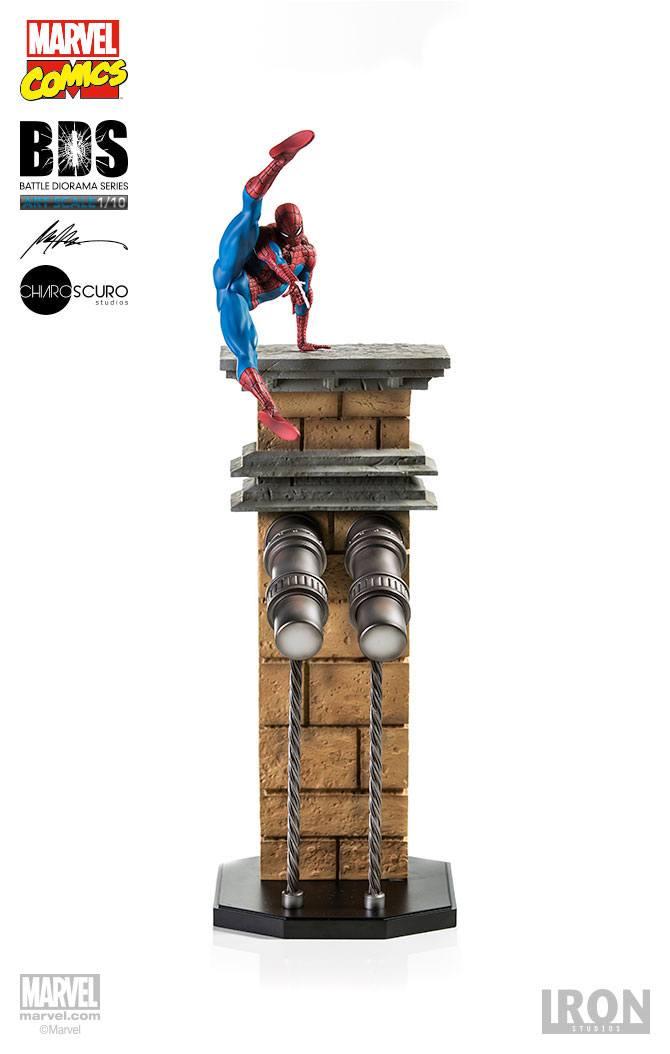 Statuette Marvel Comics Battle Diorama Series Spider-Man 51cm 1001 Figurines