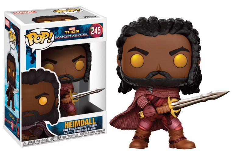 Figurine Thor Ragnarok Funko POP! Heimdall 9cm 1001 Figurines