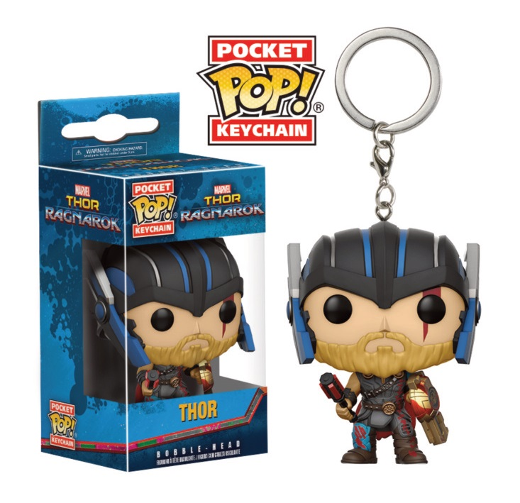 Porte-clés Thor Ragnarok Pocket POP! Thor (Gladiator Suit) 4cm 1001 Figurines